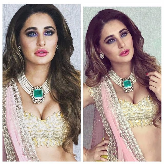 Nargis Fakhri Gives Us Some Major Makeup Goals With Her Looks At Lakme Fashion Week !