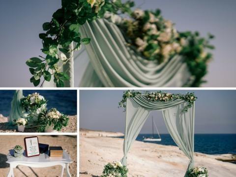 wedding decoration cyprus