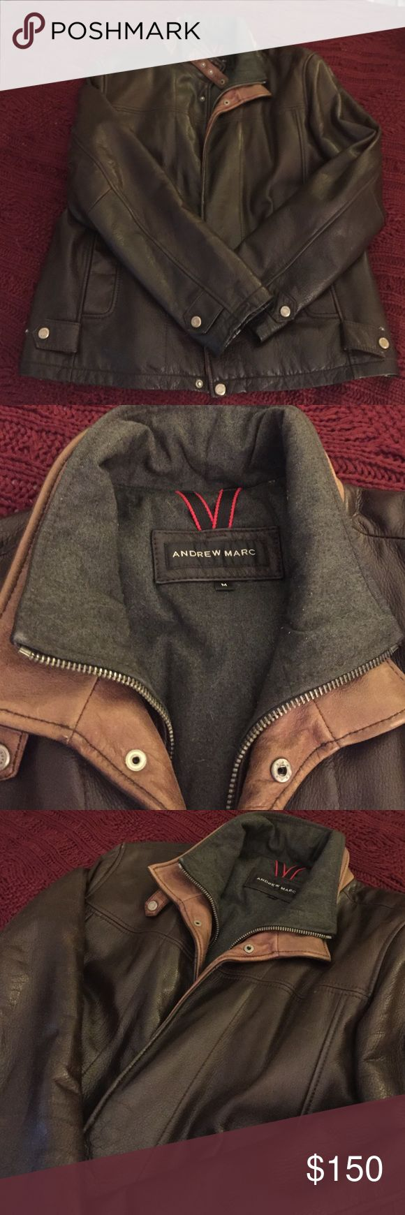 Andrew Marc Leather Jacket Andrew Marc Leather Jacket. Beautiful jacket!  In excellent condition! Andrew Marc Jackets & Coats