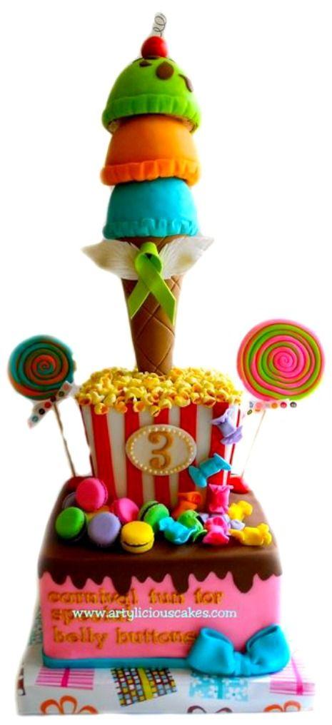 Sweet Carnival Cake