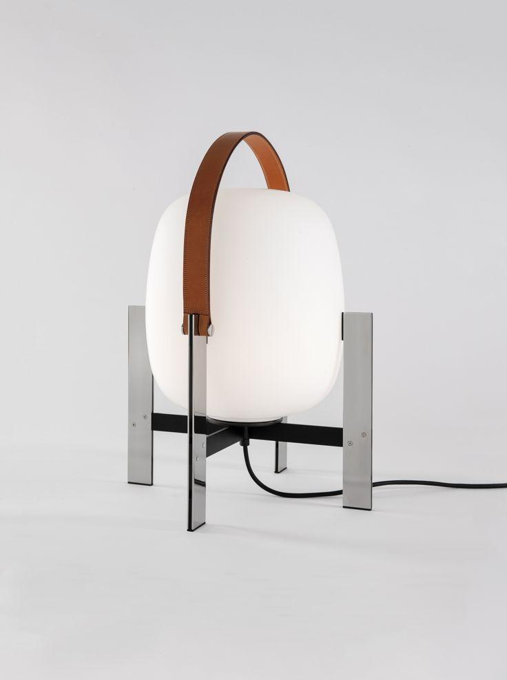 Cesta metálica lamp by miguel milá 1962