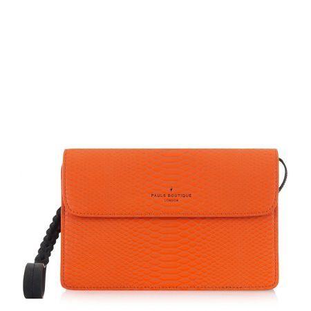 Pauls Boutique Handtassen Veronica Welbeck Clutch  Oranje