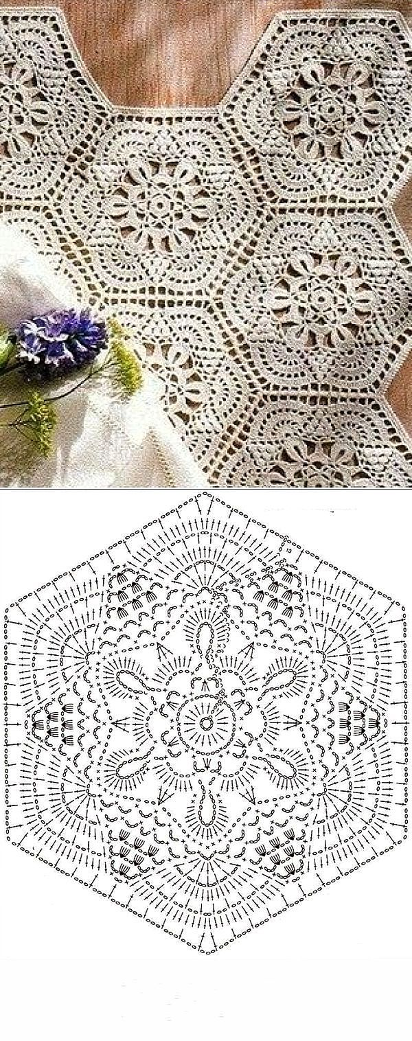 Crochet Hexagon Shape