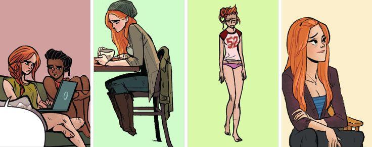 "okay-thislooks-bad: "" Barbara Gordon + Batgirl of Burnside Outfits """