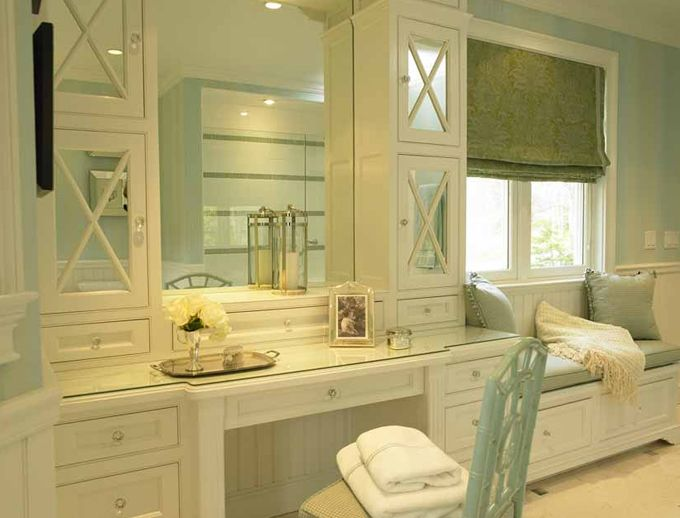 1000 ideas about dressing table storage on pinterest diy dressing tables dressing table for Bathroom vanity with seating area