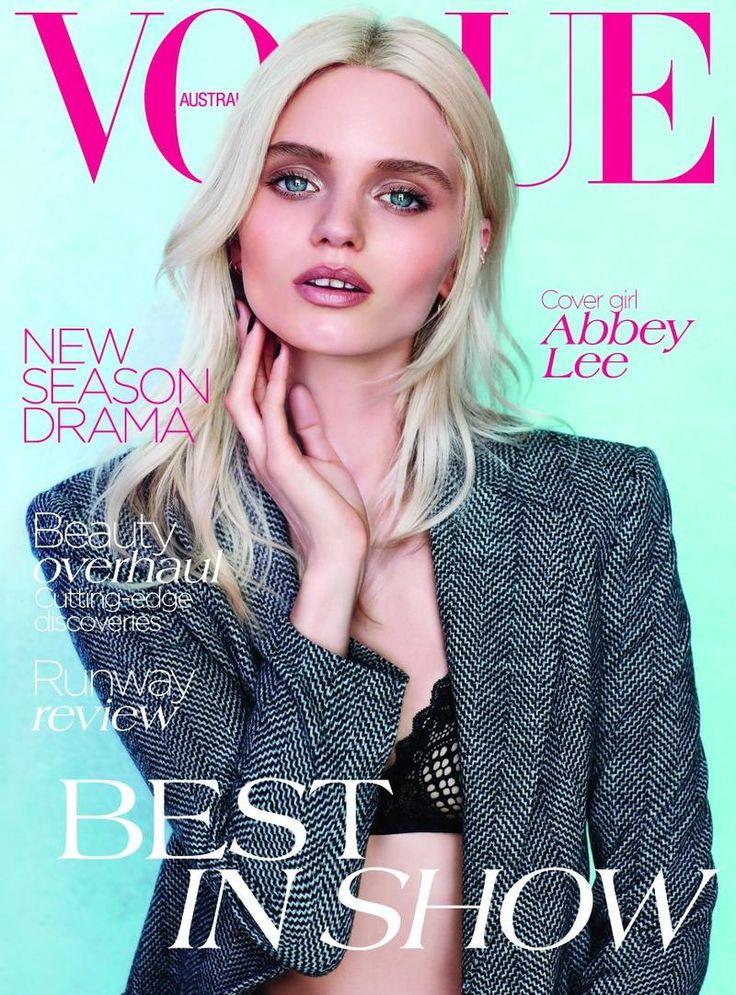 Abbey Lee Kershaw - Vogue Australia - Vogue Australia August 2012 Cover