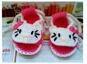 Sepatu Bayi Grosir - Hellokitty Bayi Fotografi Prop Bayi baru lahir Sepatu Crochet Bayi Crochet Rajutan Balita Sepatu Bayi Sepatu Alas Kaki 11cm | Pusat Sepatu Bayi Terbesar dan Terlengkap Se indonesia