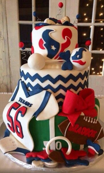 Texans baby shower cake! :)