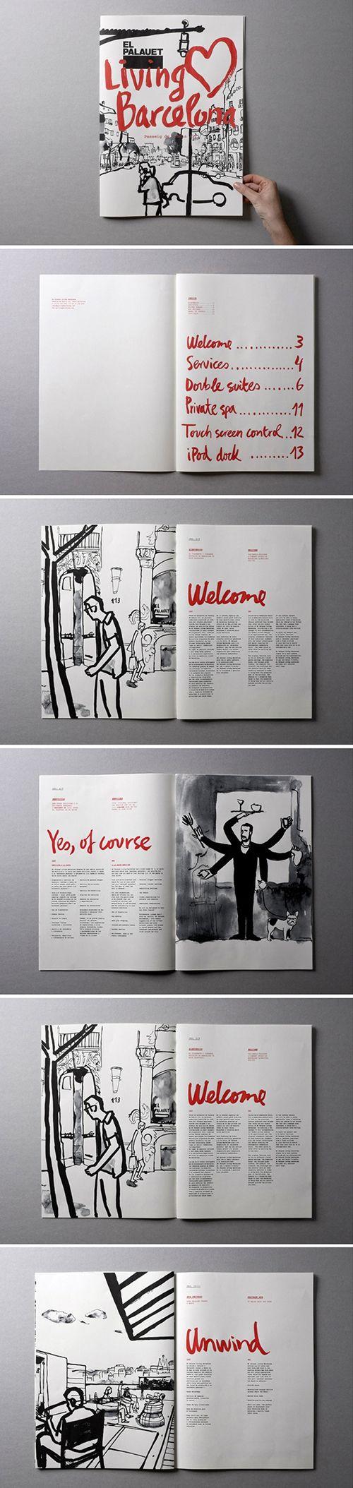 Living Barcelona brochure