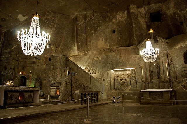 Wieliczka Salt Mine – An Astounding Subterranean Salt Cathedral: everything in this salt mine/cathedral in Poland is carved from salt. I am currently reading a book - Salt: A world history - that talks all about the history of this mine. Can't wait to visit it!: Bucket List, Favorite Places, Salt Cathedral, Amazing Places, Travel, Salts, Poland