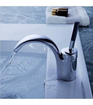 Single Lever Chrome Bathroom Faucet 0156