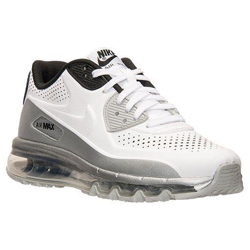 Men's Nike Air Max 90 2014 Running Shoes - 646909 ...