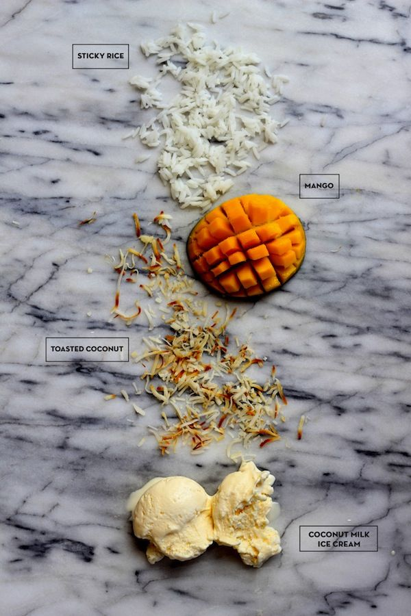 coconut mango ice cream - recipe from you are my fave