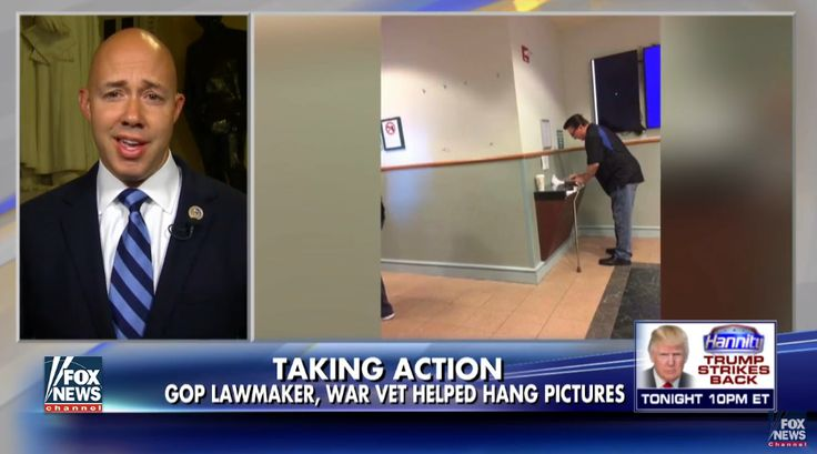 Missing In Action: Rep. Brian Mast Reacts After VA Hospital Removes Trump Photo - Deplorable News