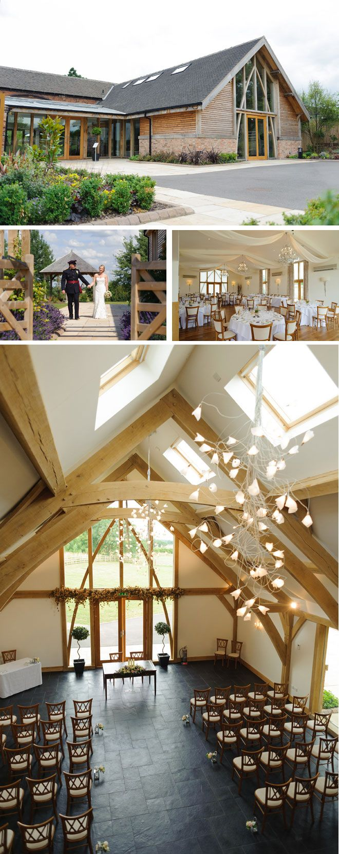Tradition meets elegance at this fantastic barn wedding venue in Leicestershire. Images © Richard Shepherd Photographer | Visit wedding-venues.co.uk