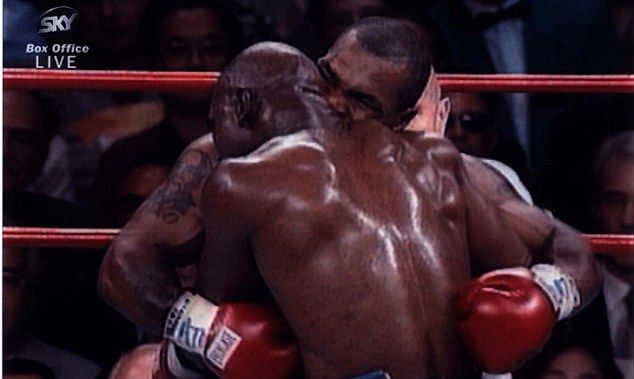 Ear's a good example: Mike Tyson was fined £2m and banned for life for his bite on Evander Holyfield