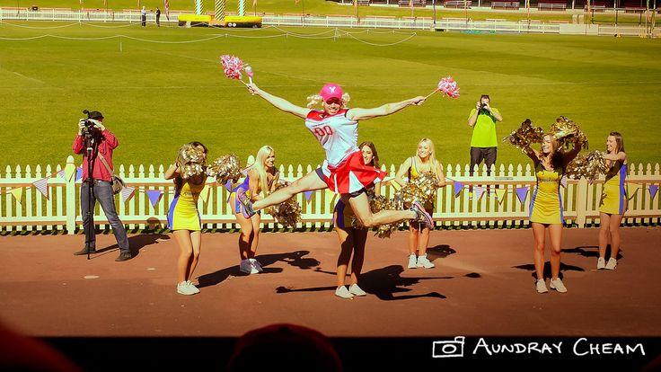 Cheerleaders!- Atlassian End of Financial Year Party 2013