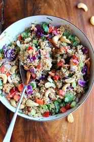 Recipe - Crunchy Cashew Thai Quinoa Salad on www.cravegoldcoast.com.au/recipes/recipe59.html