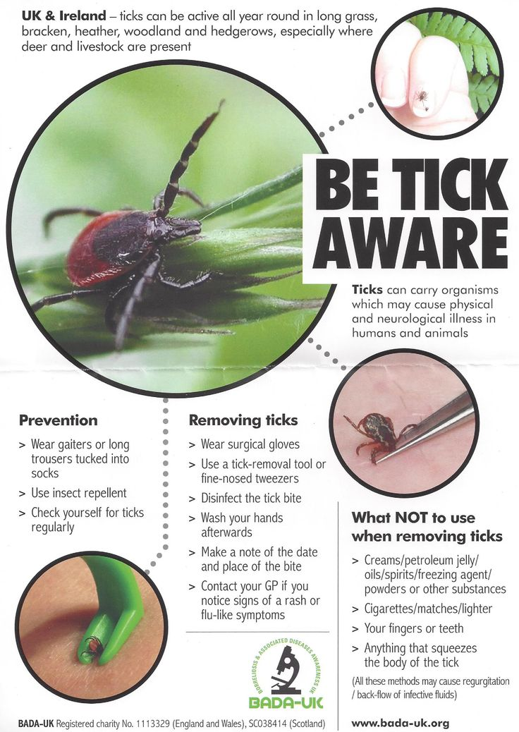 Be Tick Aware, how to prevent tick bites while out walking
