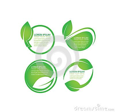 Vector Set Of Organic, Green Leaf, Natural, Biology Labels For Web Design With Place For Editable Text - Download From Over 58 Million High Quality Stock Photos, Images, Vectors. Sign up for FREE today. Image: 90648742