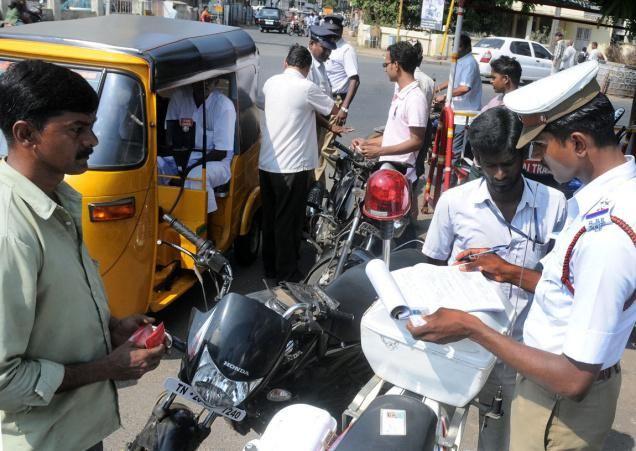 போக்குவரத்து பொலிஸார் லஞ்சம் வாங்குவதை தடுக்க புதிய வசதி | A2Z Media | Tamil Nadu News | India News | Asia News | World News