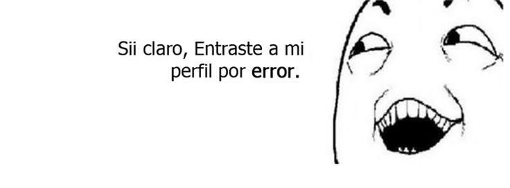 Nueva #Portada Para Tu #Facebook   Error    http://crearportadas.com/facebook-gratis-online/error/  #FacebookCover #CoverPhoto #fbcovers