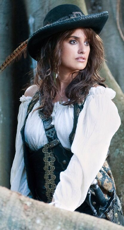 """Penelope Crus As Angelica Teach from """"Pirates Of The Caribbean - On Stranger Tides"""""""