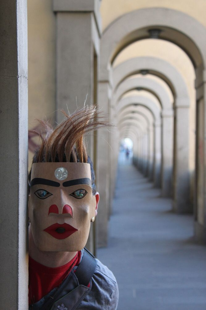 A mask in Italy By Rande cook
