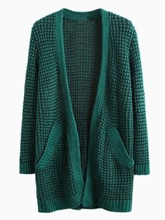 Hunter green cardigan. This would be perfect with a white/cream piko top or a flannel top, leggings, and brown riding boots