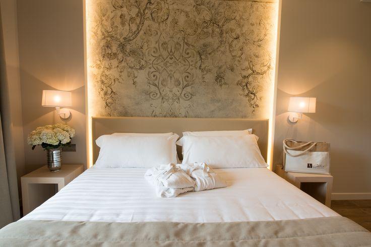 Carte Inkiostro Bianco per le camere dell'Hotel Miramonti di Bergamo