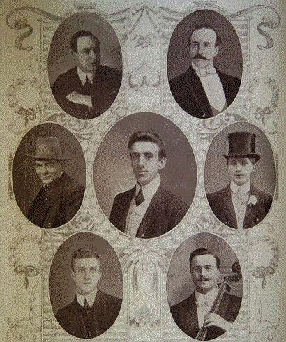 los músicos que tocaron hasta el final mientras el Titanic se hundía