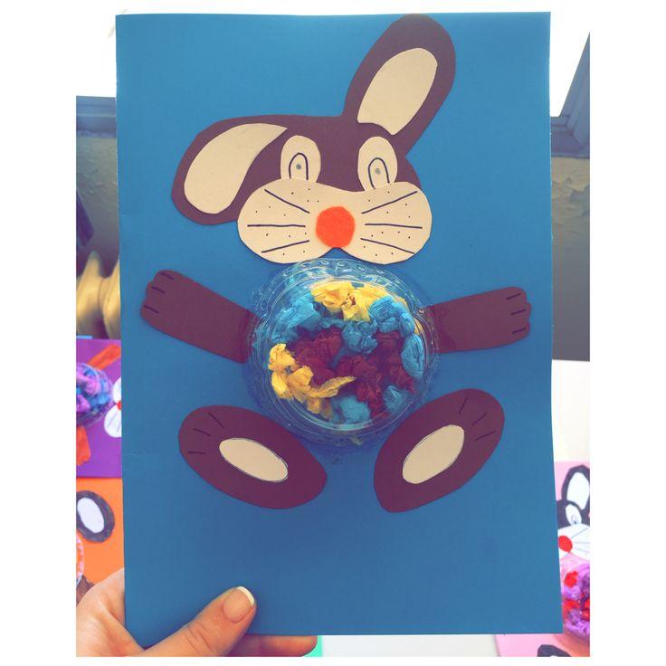 Rabbit card for Easter