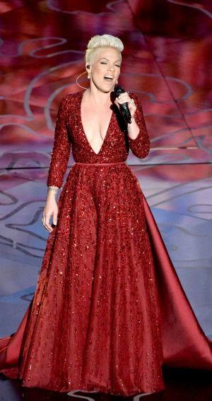 P!nk  2014 Oscars ~ Somewhere Over The Rainbow