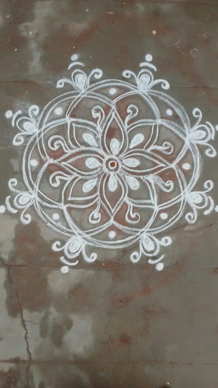 205 best muggulu rangoli images on pinterest rangoli for Floor rangoli design