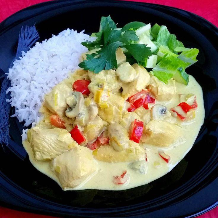 Currygryta med kyckling - ZEINAS KITCHEN