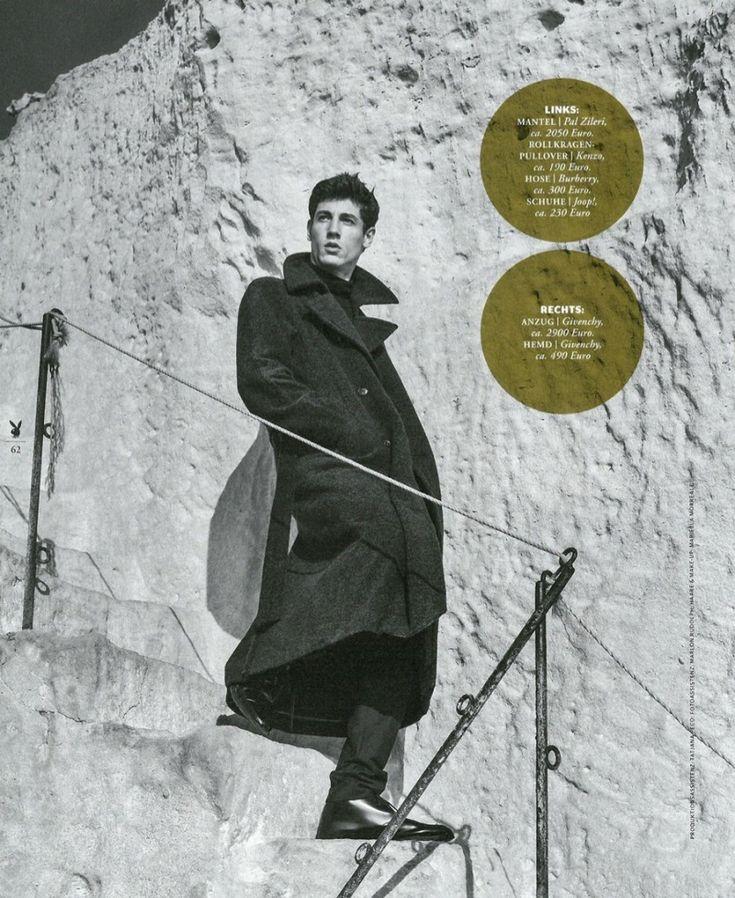 Nicolas Ripoll 2015 Editorial Playboy Germany 005 800x977 Playboy Germany: Nicolas Ripoll Gives Us Coat Envy