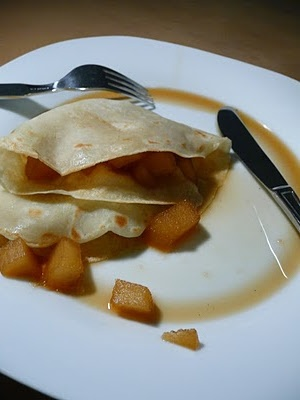 Failsafe Foodie: Crepes with Vanilla Pears. GF