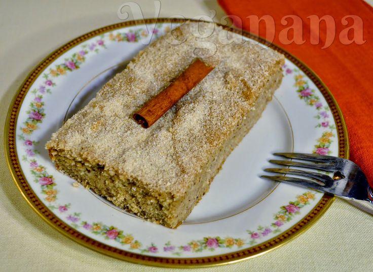 Bolo de Banana Com Farinha de Pão (Rosca) ~ Veganana