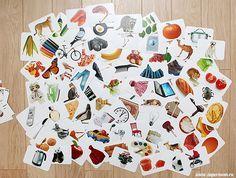 Grandes banques d'images sur différents thèmes comme les fruits, les animaux, les meubles, les vêtements...