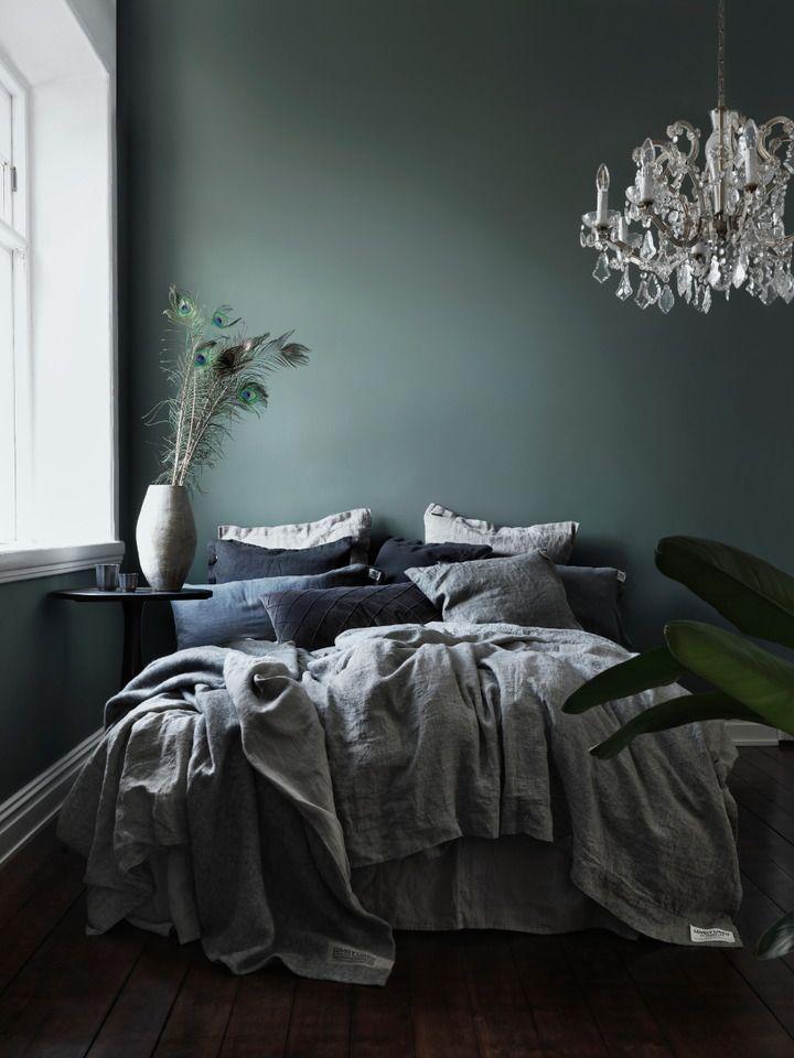 väggfärg Farrow- Ball Green smoke