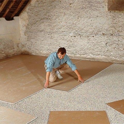 Poser une chape sèche Placosol® : La chape sèche, flottante et légère Placosol® est constituée de 2 plaques de plâtre collées généralement mise en œuvre sur ...