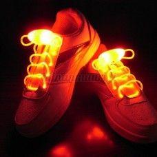 LED-kengännauhat, oranssi