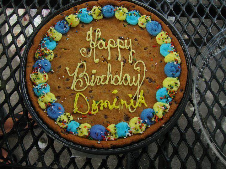 Winn Dixie Cookie Cake