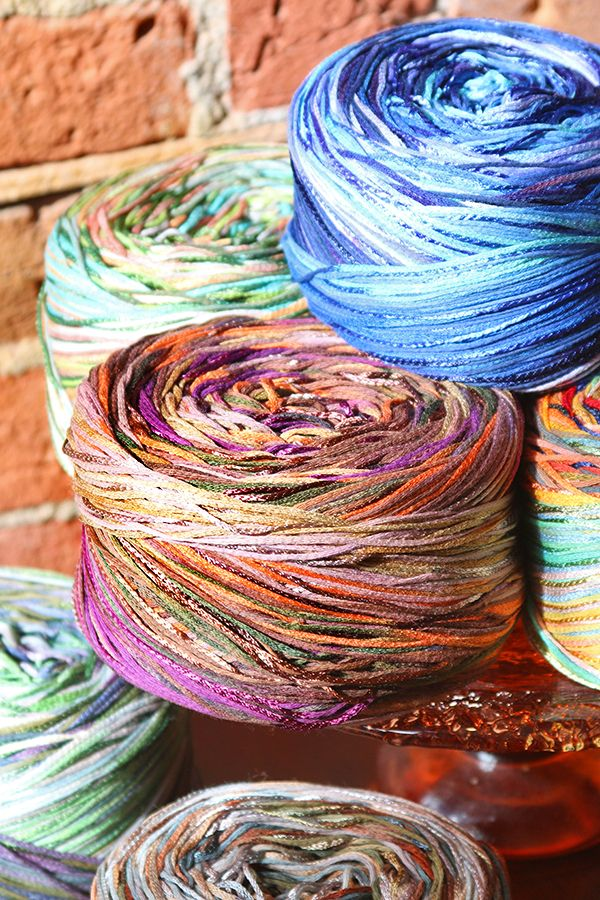 New arrival!! Girandola is a bold, bright, and beautiful DK weight yarn. Each oversized skein is like an explosion of colors and textures with over 600 yards!   https://northcoastknittery.com/collections/new/products/girandola
