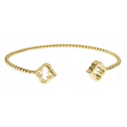 Stack Fornash's signature gold spade bracelet. It's arm candy you'll love.