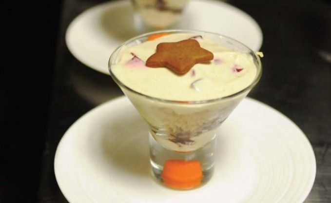 Recipe for Ginger Cake Trifle with Preserved Summer Fruits by Taste Canada Finalist J.K.: The Jamie Kennedy Cookbook on Gusto TV.