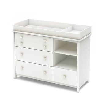 Little Smileys Changing Table with Removable Changing Station | Overstock.com Shopping - The Best Deals on Changing Tables