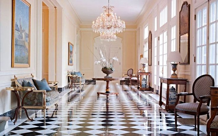 One word to describe this foyer: Fabulous! | Duke Mansion in Charlotte, North Carolina | Southern Living Handpicked Hotels