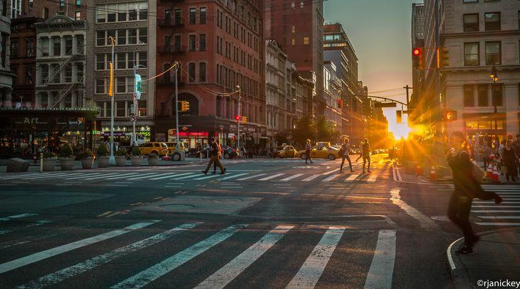https://flic.kr/p/VhDzdk | Manhattanhenge |   23 street & Broadway