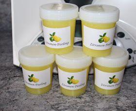 ✿ MM-Creative ✿: Zitronen-Peeling - jetzt mit Rezept